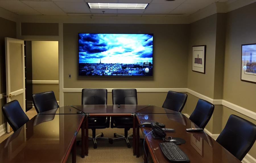 Wall Mounted TV Conference Room La Vergne, TN